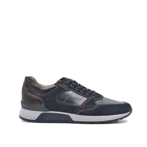 Sneaker da uomo in vera pelle