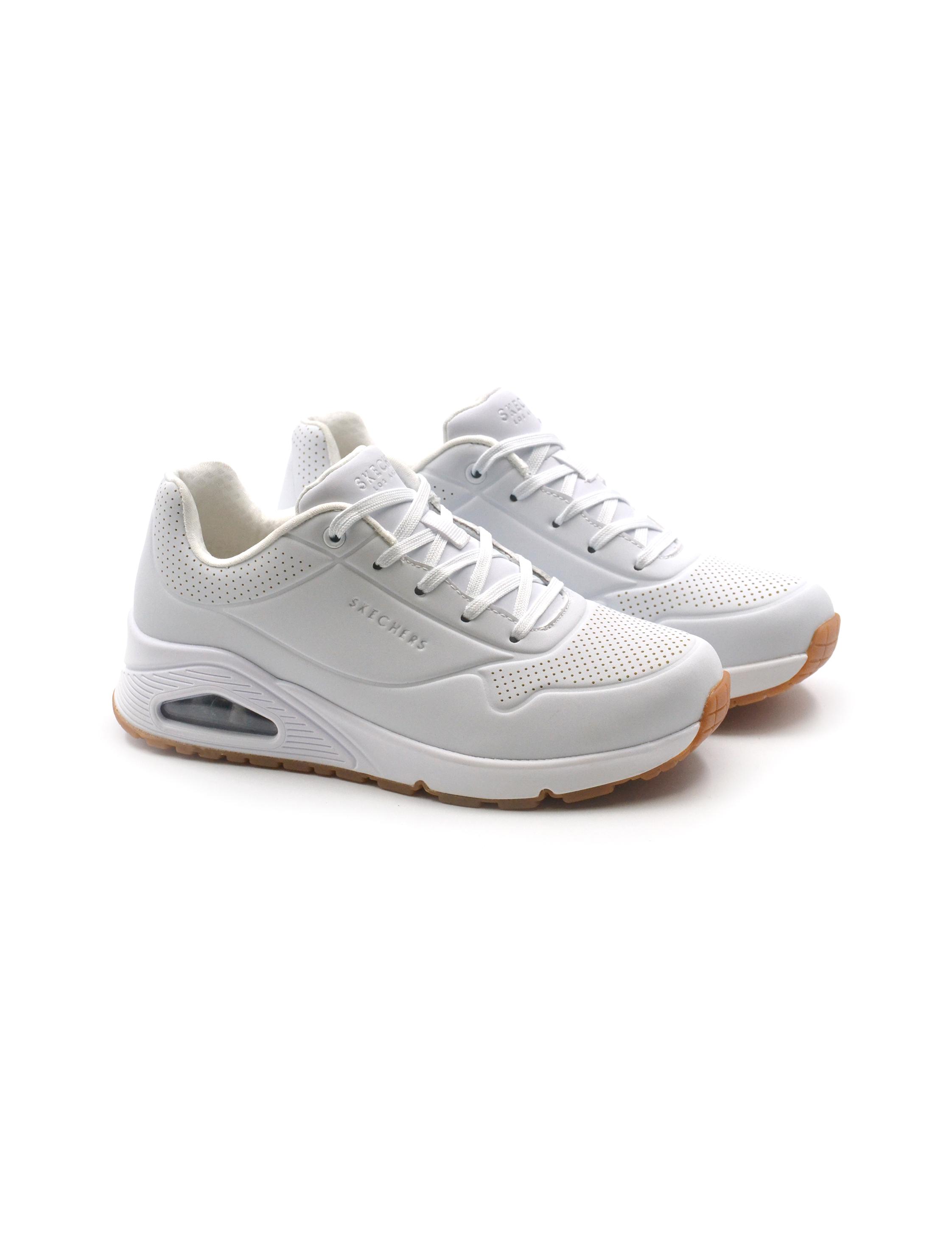 Skechers sneaker donna con memory foam, Sneakers, colore Wht