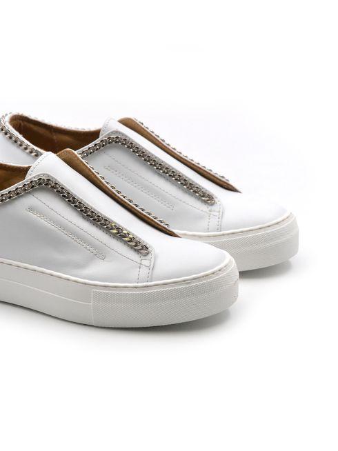 Crown sneaker da donna con catenella