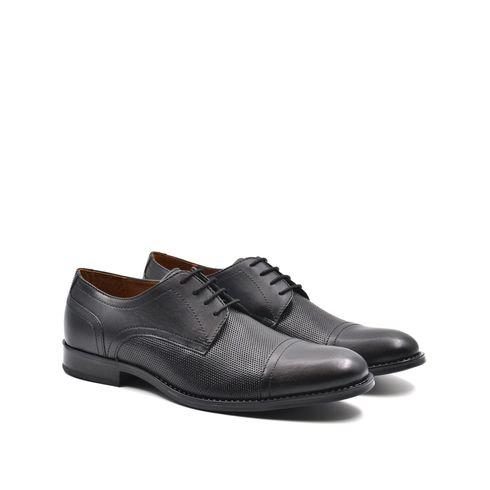 ConTé scarpa derby da uomo in pelle