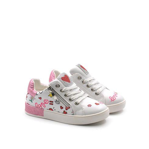 Love Details sneaker da bimba con zip