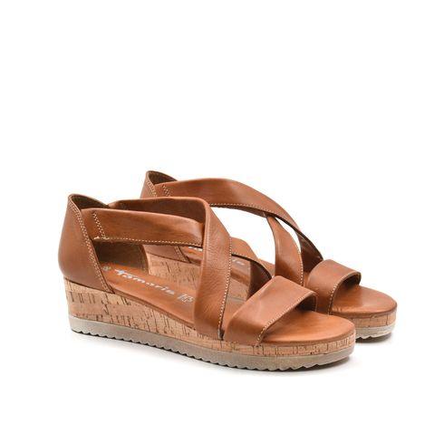 Tamaris sandalo da donna in pelle