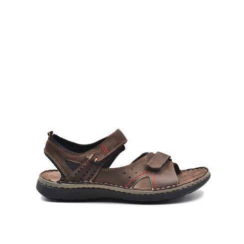 sandalo da uomo in pelle