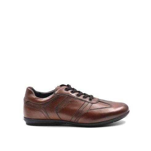 ConTé scarpa casual da uomo in pelle