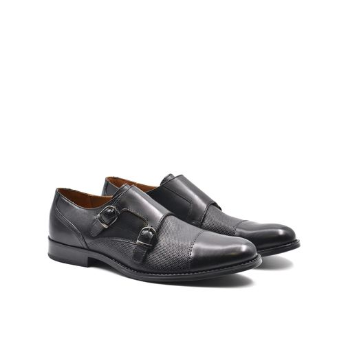 ConTé scarpa derby da uomo con fibbie