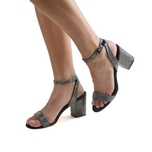 Malena sandalo da donna con strass