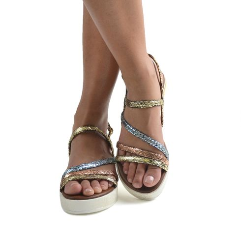 Malena sandalo platform da donna