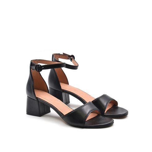 Sandalo da donna in pelle con cinturino