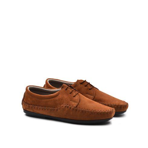 Parigino scarpa stringata uomo in pelle