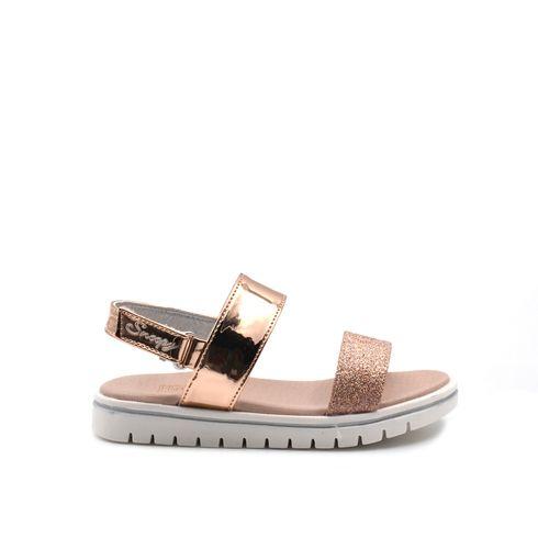 Snoopy sandalo da bimba con glitter
