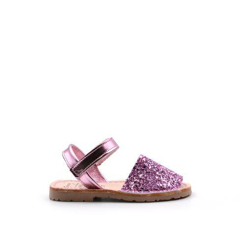 Sladan sandalo da bimba con glitter