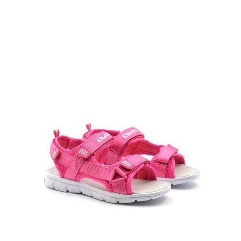 Superga sandalo bimba in tessuto