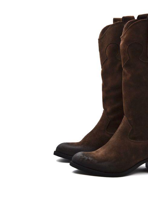 ConTé stivale texano donna in pelle