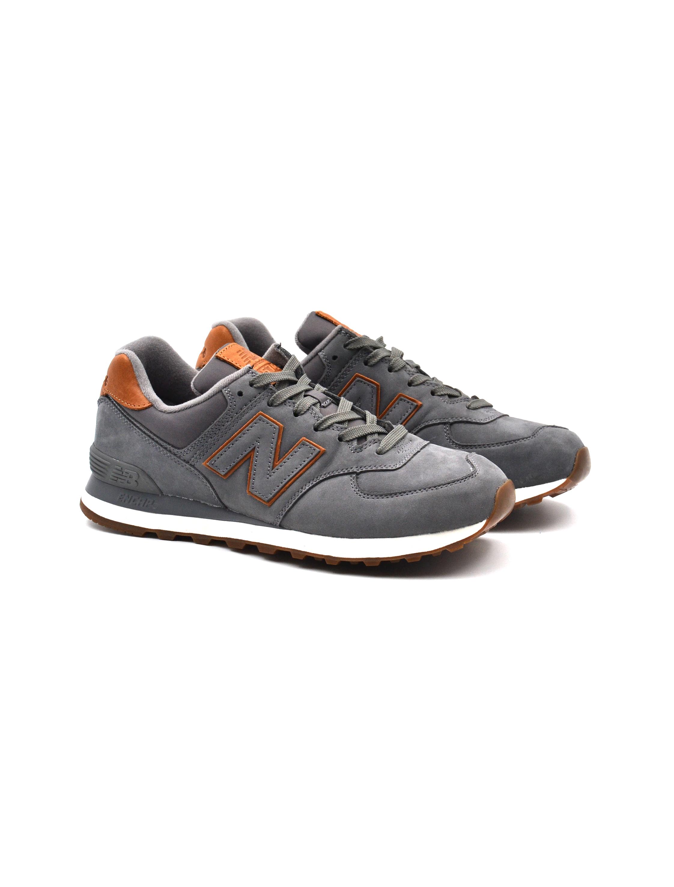 new balance 574 nbi sneaker uomo nero