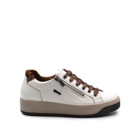 Igi&Co sneaker donna in pelle con zip