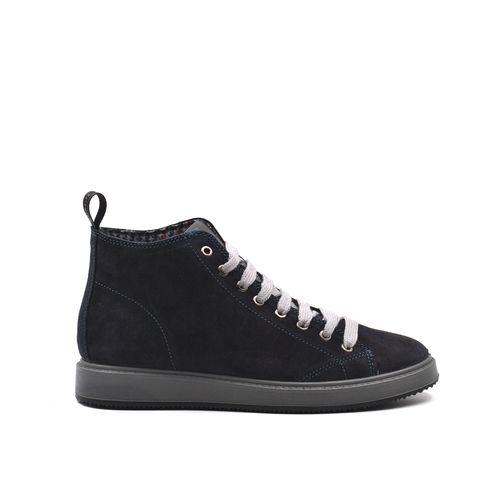 Igi&Co sneaker alta da uomo in pelle