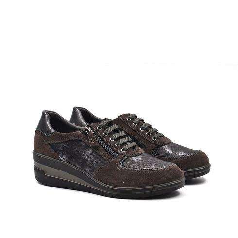 Greenwood scarpa donna in pelle con zip