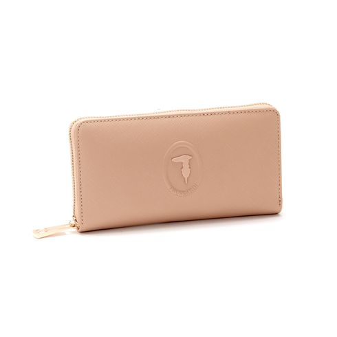 Trussardi Lisbona Zip Pocket Wallet
