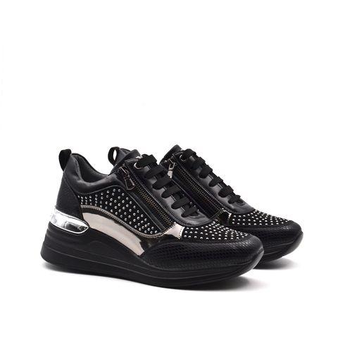 Sneaker da donna con zip