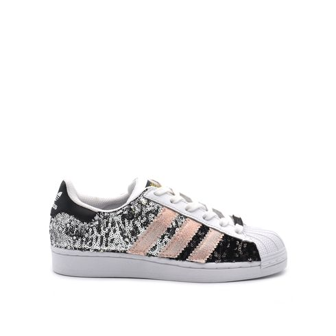 Adidas SuperStar Custom con paillettes