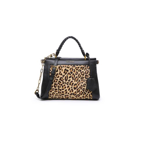 Kelly Kross tote bag leopard borsa donna
