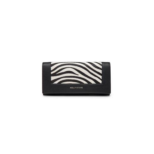 Kelly Kross big wallet zebra