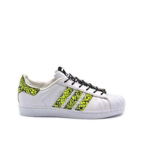 Adidas SuperStar Custom inserti fluo