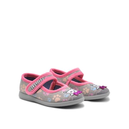 Puchitos pantofola da bimba con fiocco