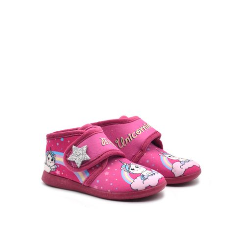 Puchitos pantofola bimba con unicorno