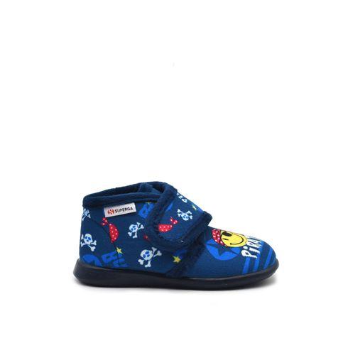 Superga pantofola da bimbo in tessuto