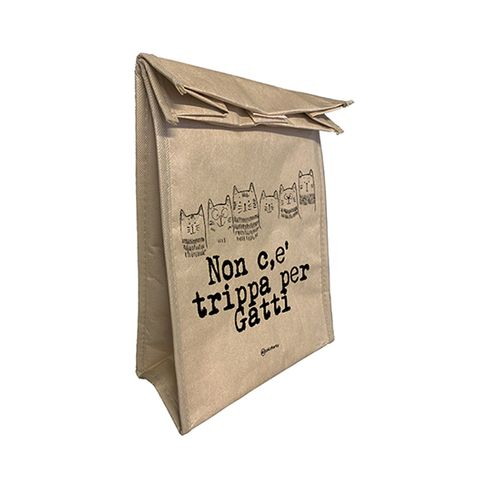 Lunch Bag Non c'è trippa per gatti
