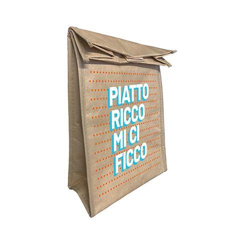 Lunch Bag Piatto ricco mi ci ficco