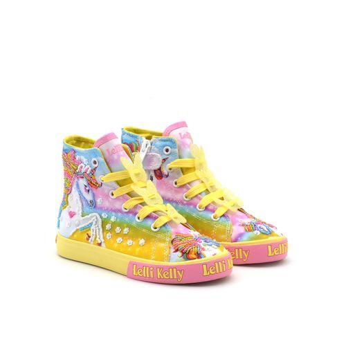 Lelli Kelly Unicorn Mid sneaker bimba