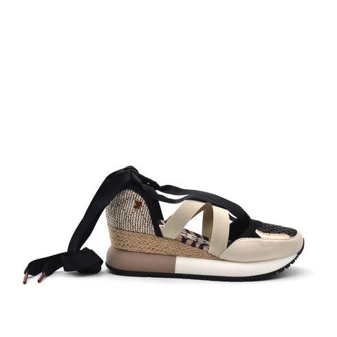 Gioseppo Prairie sneaker donna con zeppa