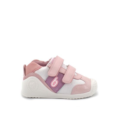 Biomecanics sneaker bimba pelle tessuto