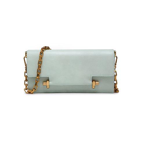 Kelly Kross Clutch Bag Mint Glasse