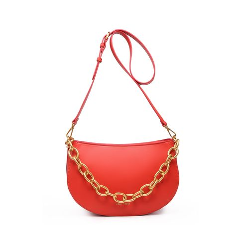 Kelly Kross Saddle Bag Agatha Coral