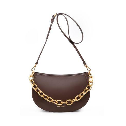 Kelly Kross Saddle Bag Agatha Dk.Brown