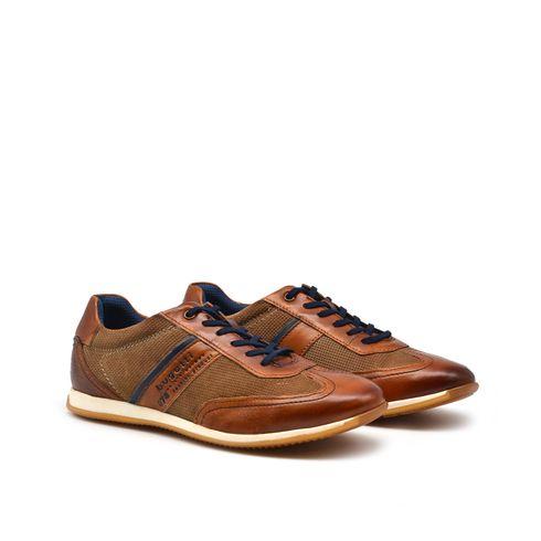 Bugatti scarpa da uomo in vera pelle