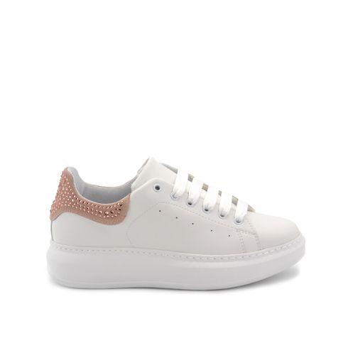 Vitamina Tu sneaker platform con strass