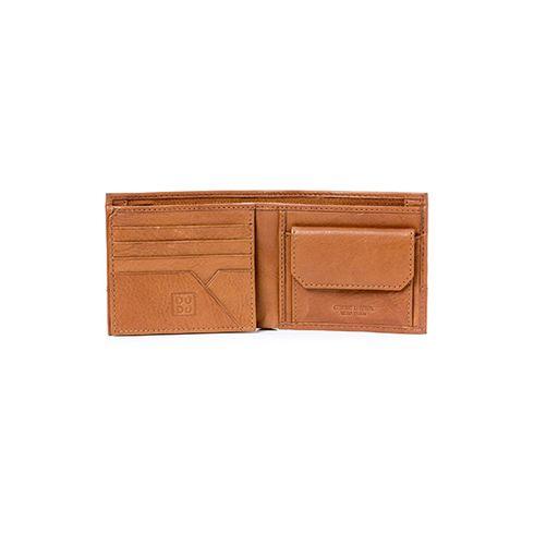 Dudubags portafoglio da uomo in pelle