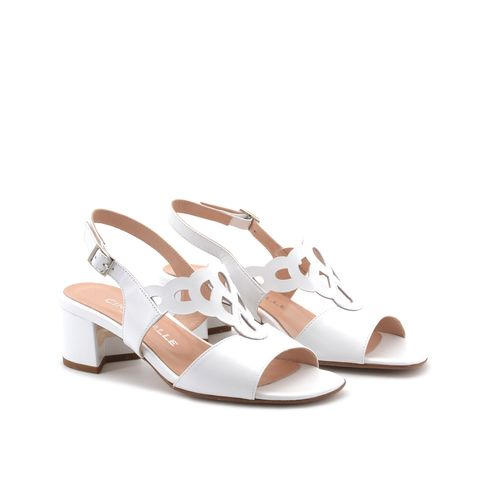 Cinzia Valle sandalo donna vera pelle
