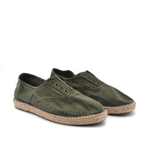Natural World scarpa uomo in cotone