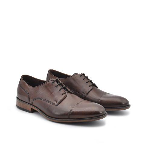 ConTé scarpa derby uomo in vera pelle