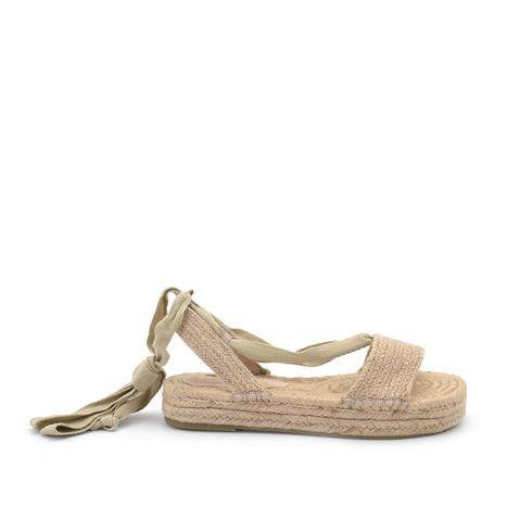 Corina sandalo in corda da donna