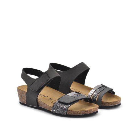 Valleverde sandalo donna con glitter