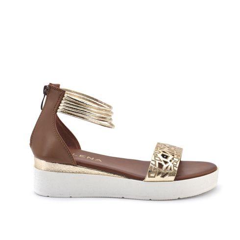 Malena sandalo da donna con zip