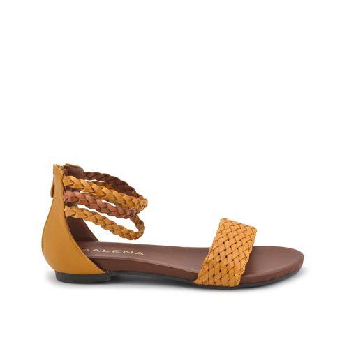 Malena sandalo donna con zip