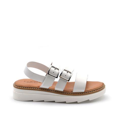 ConTé sandalo bimba in vera pelle