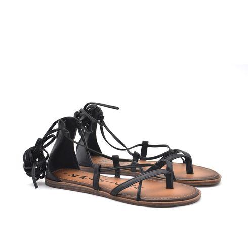 Sandalo infradito donna con zip